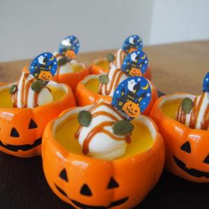 かぼちゃプリンも始まってます☆