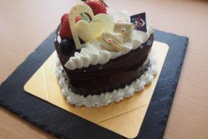 ハート型ショートケーキ限定販売初日